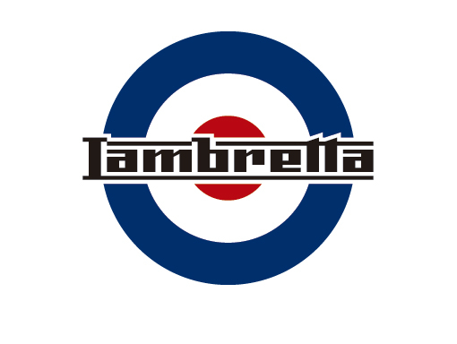 Lambretta Cortina Green Target Logo 100/% Cotton  Polo Shirts
