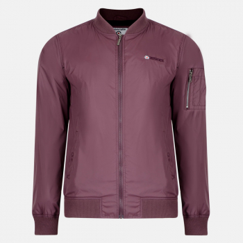 Lightweight Bomber Slim Fit-Grape