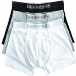 Mens 3 Pack Boxer Black/White/Grey