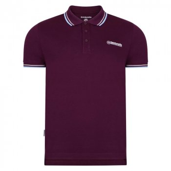 Twin Tip Polo Plum/White/Sky