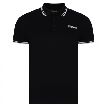 Twin Tip Polo Black/White