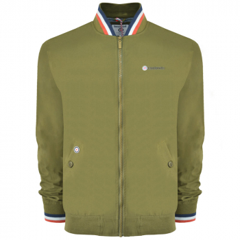 Triple Tipped Monkey Jacket Moss Green