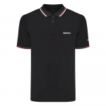 Twin Tipped Polo-Black-Long