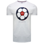 Football Tee White Regular&Long